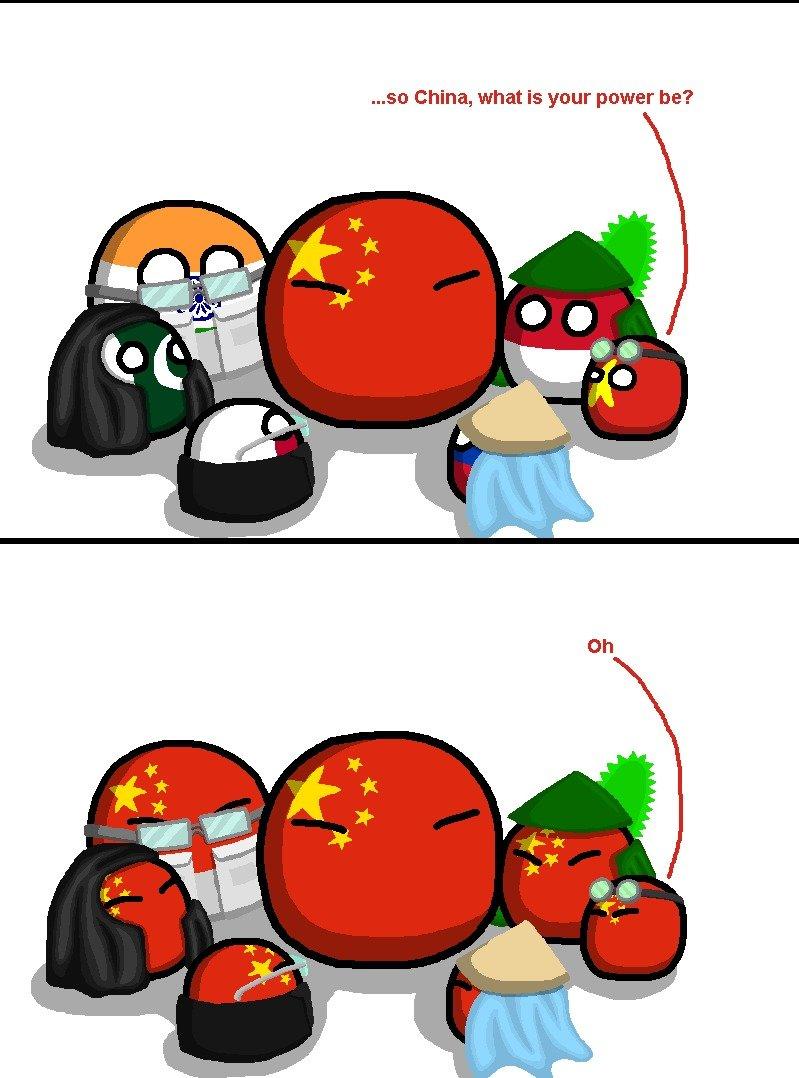 Asian Super Powers GO!