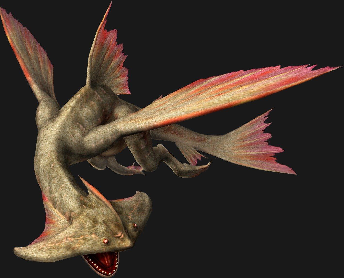 Monster hunter comp piscine wyverns for Piscine wyvern