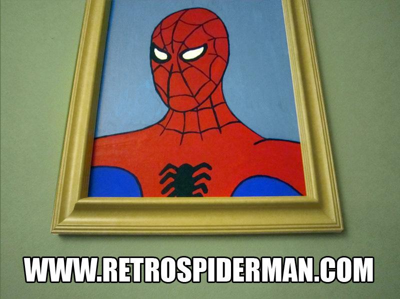 b3f172_4266080 60s spiderman meme office painting