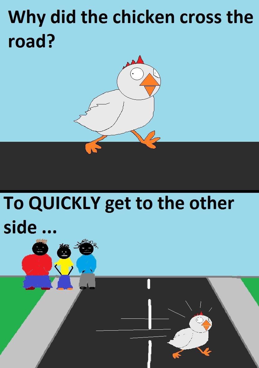 Real Ending Of The Chicken Joke