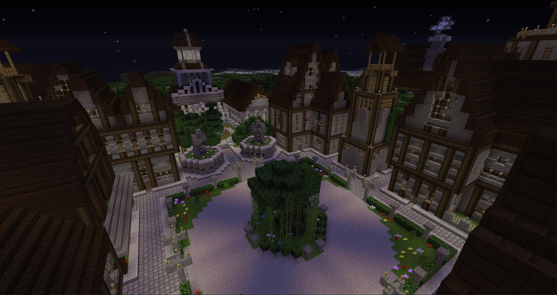 My Minecraft Town (No Worldedit)