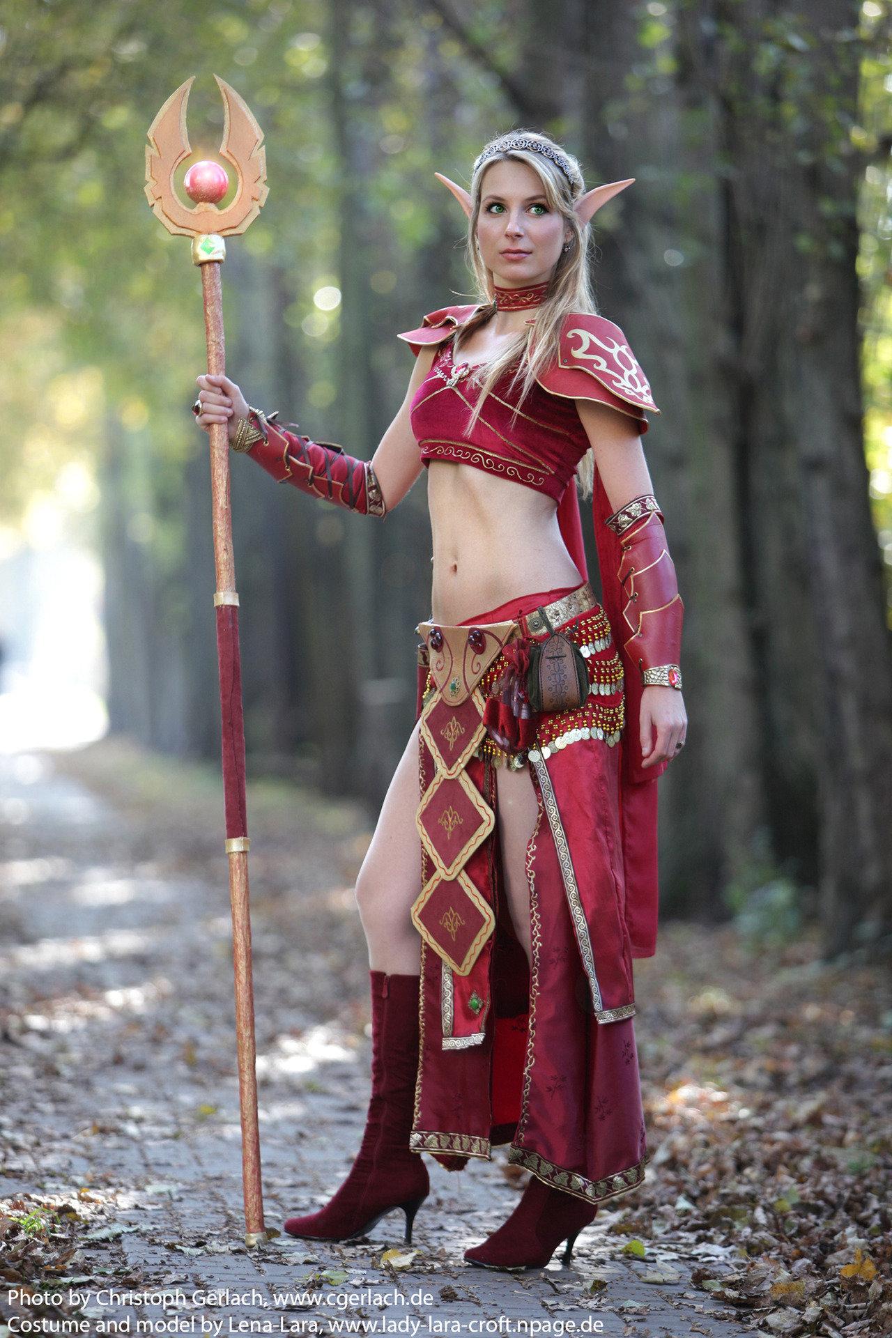 World of warcraft blood elf cosplay