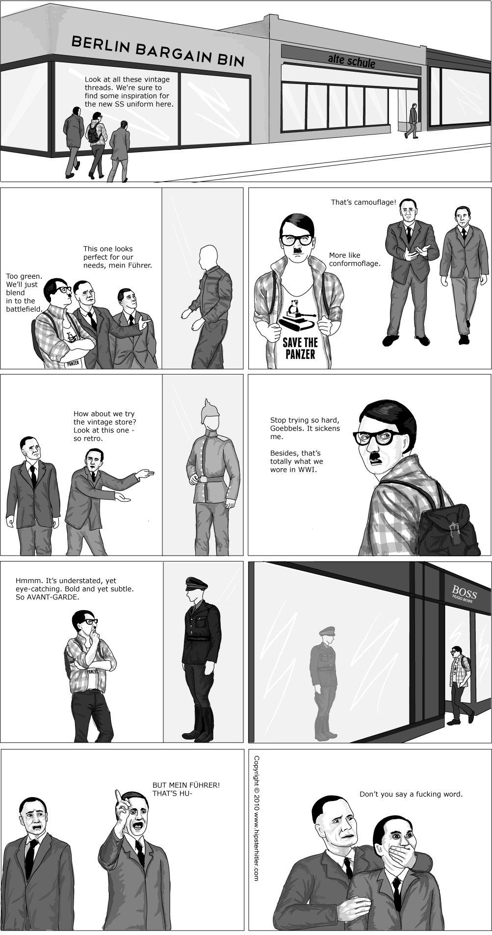 Extrêmement Hipster Hitler: New Uniforms ZX77