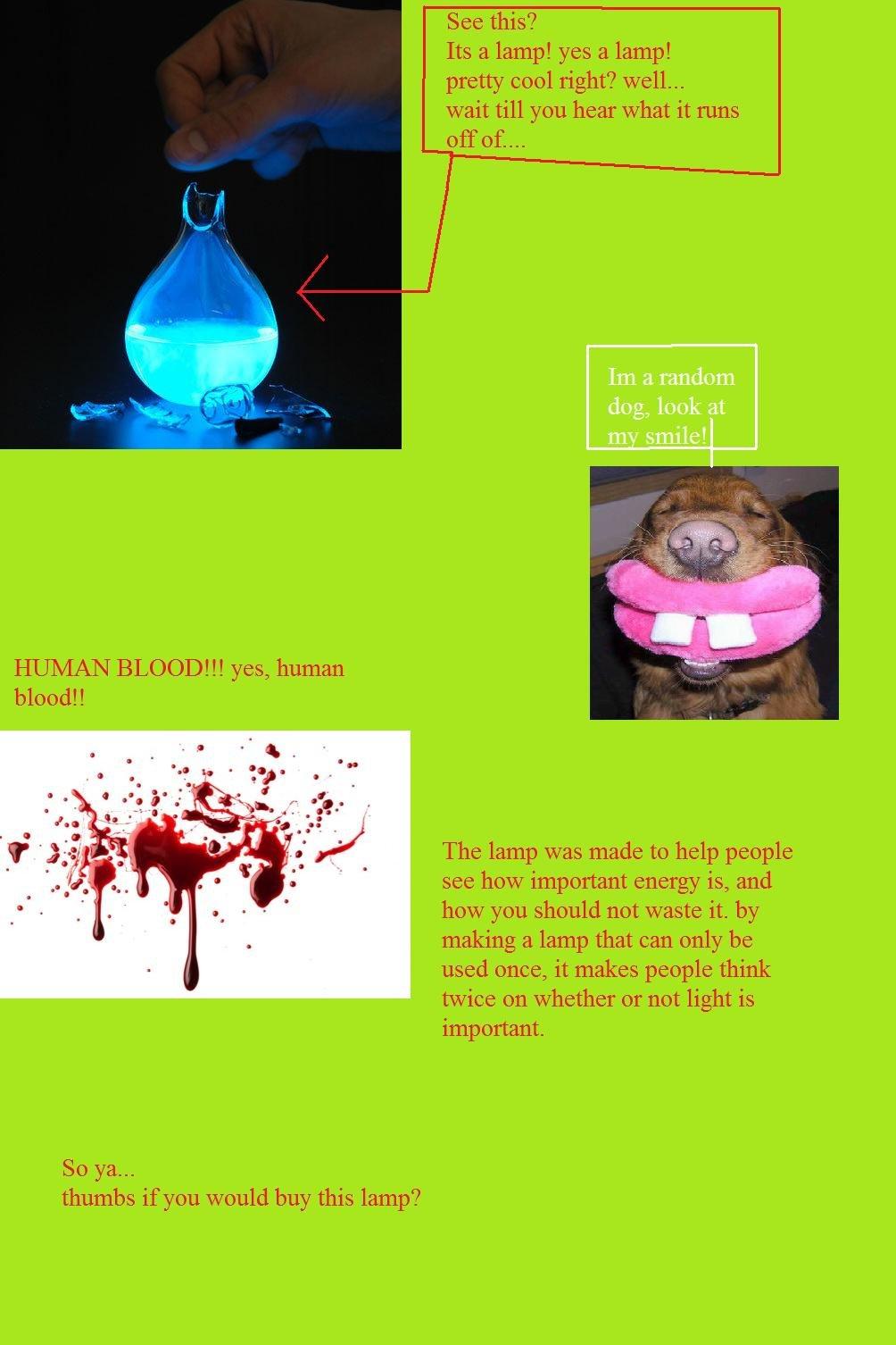 blood lamp