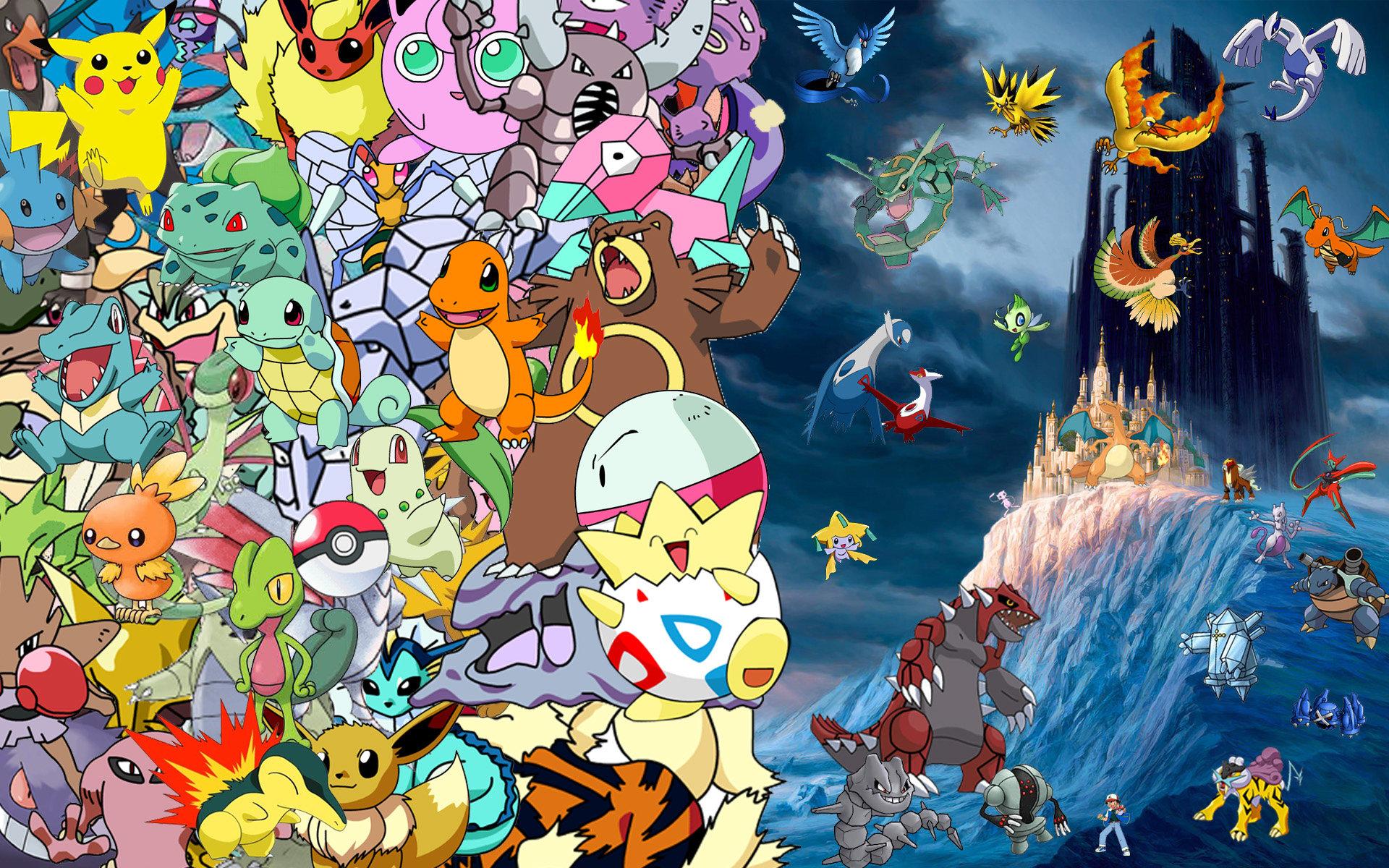 Pokemon Collagemontage
