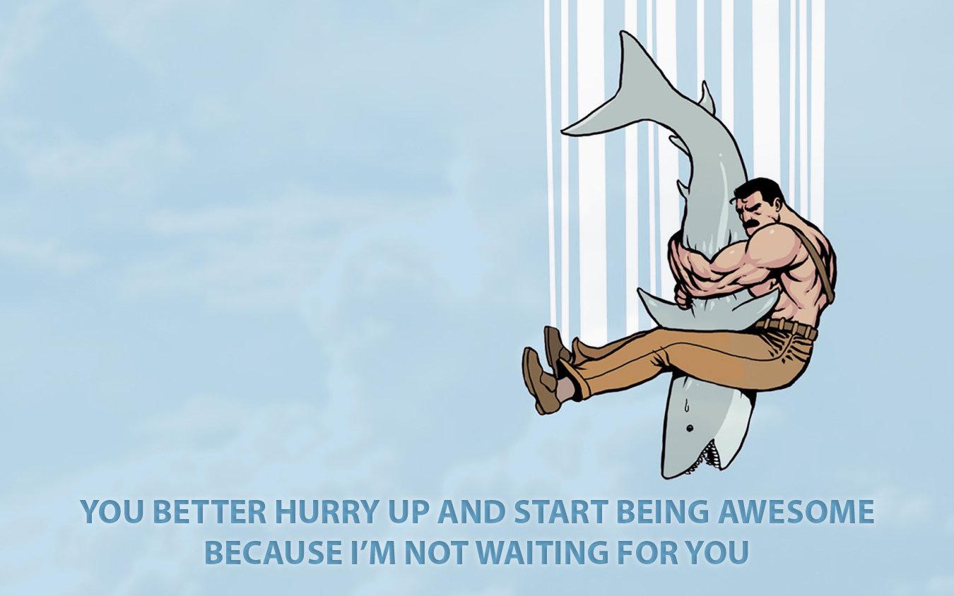 i m not waiting