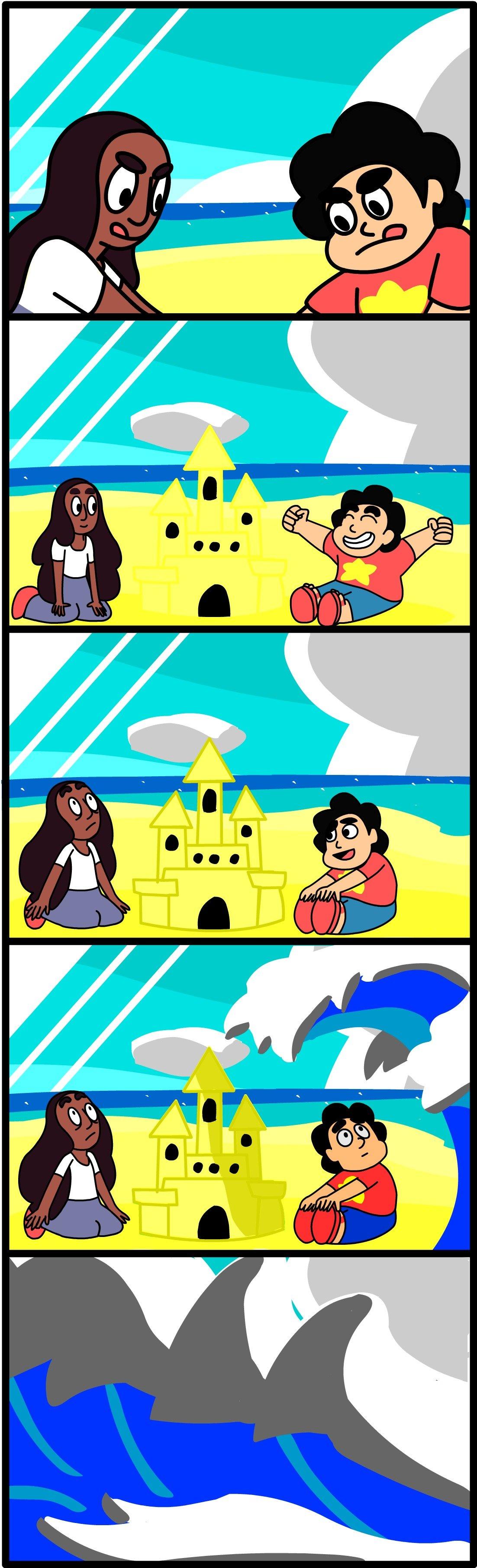 Tide Troubles (OC Comic)
