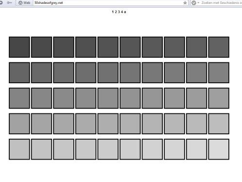 50 shades of grey. Black Bedroom Furniture Sets. Home Design Ideas