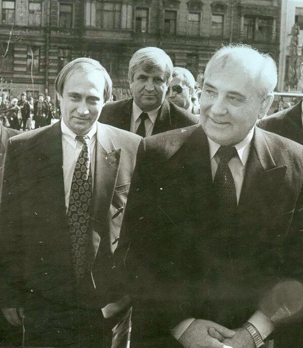 A Young Vladimir Putin