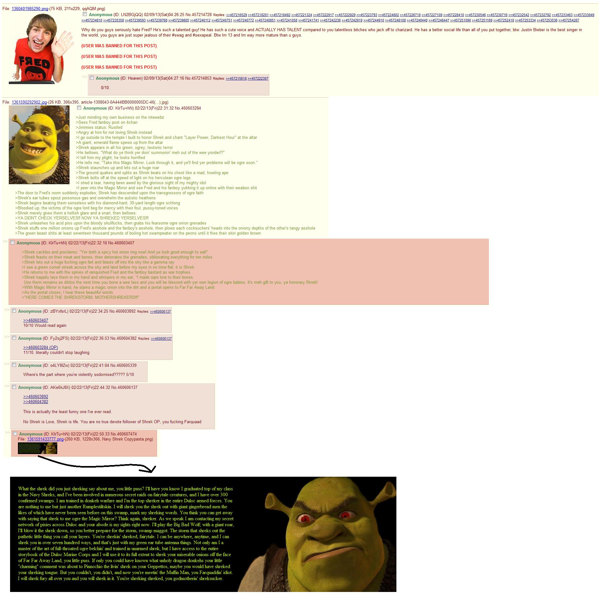 Another Shrek Story