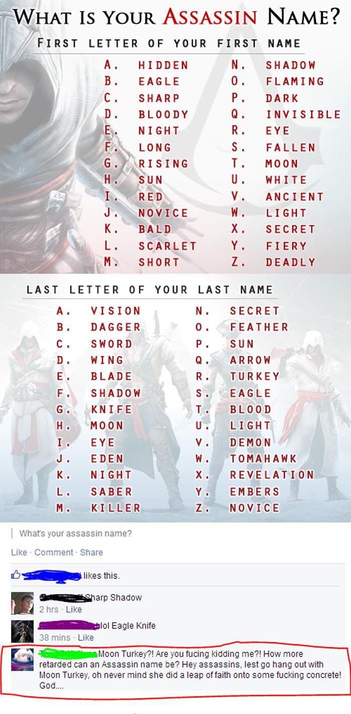 Assassins Creed Name