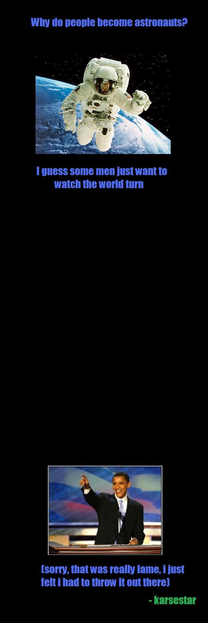 Astronomical Pun