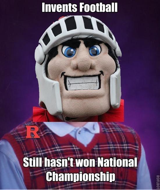 Bad Luck Rutgers