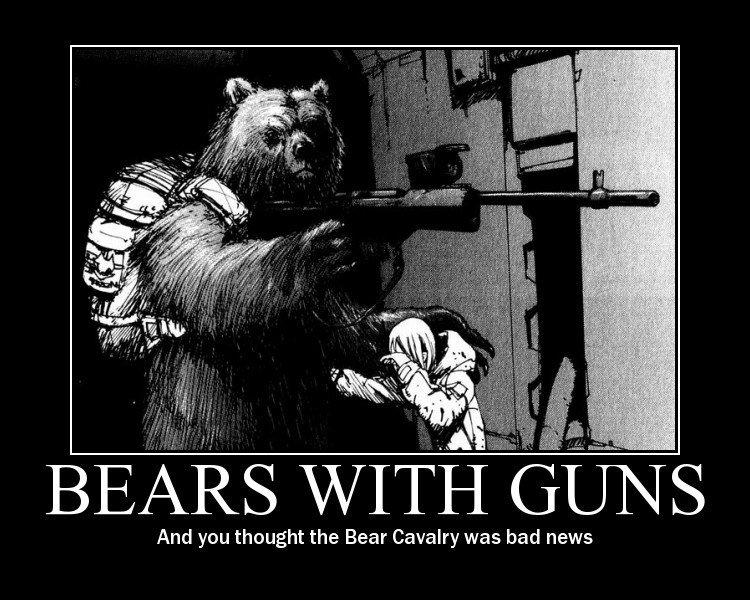 Bad ass bear