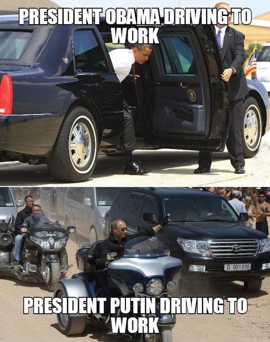 Badass Mr Putin