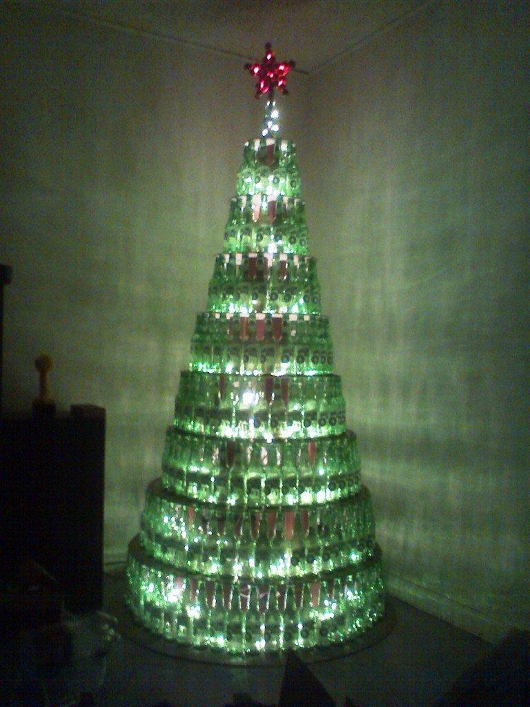 Half Of A Christmas Tree