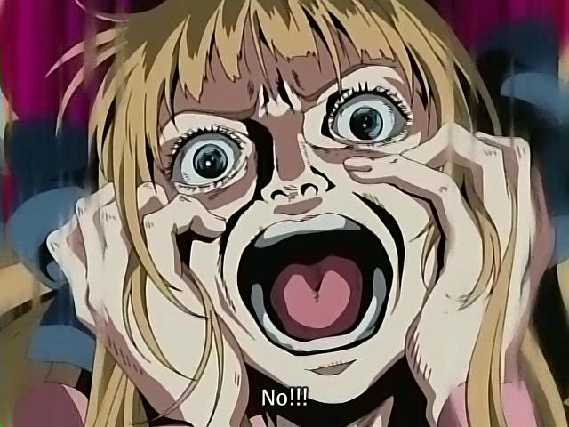 Bizarre Anime Faces