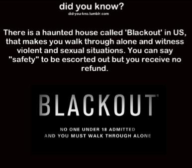 13th Floor Blackout Waiver Blackout 13th Floor Haunted House Floor Matttroy