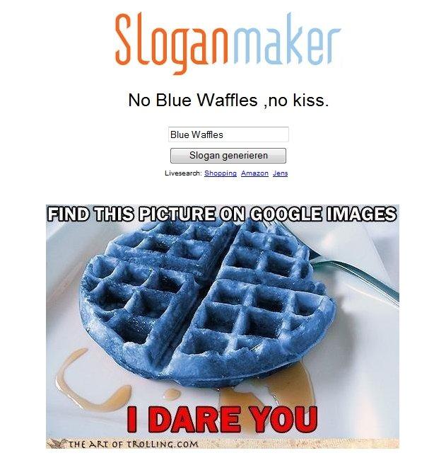 Blu waffle