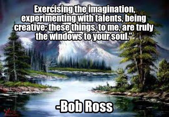 Bob ross quote comp voltagebd Gallery