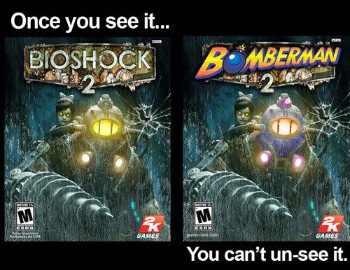 Images humoristiques ayant lien avec le jeu vidéo - Page 8 Bomberman_00eaa7_518196