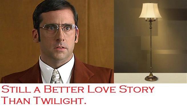 Brick Love Lamp