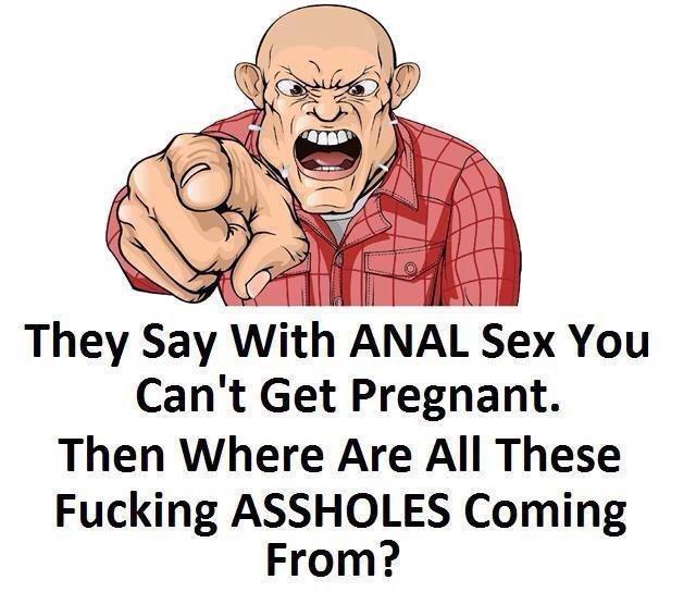 Does anal sex make u pregnet