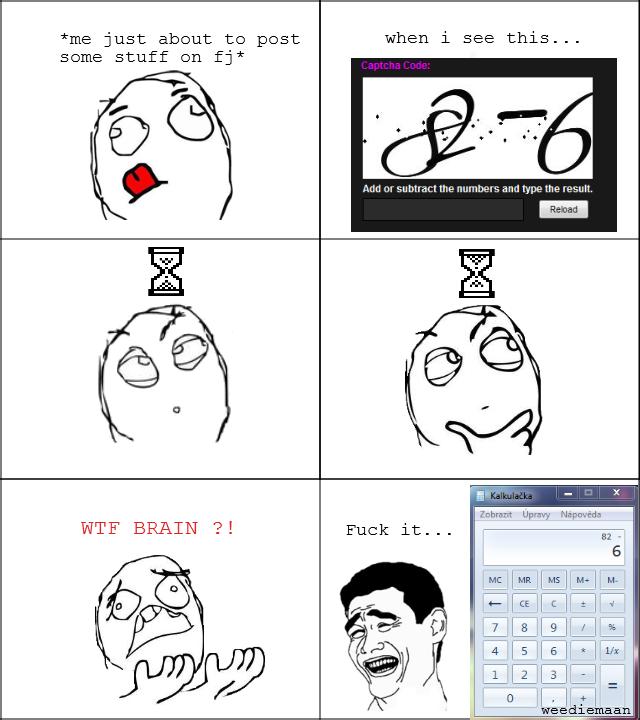 Calculator demency
