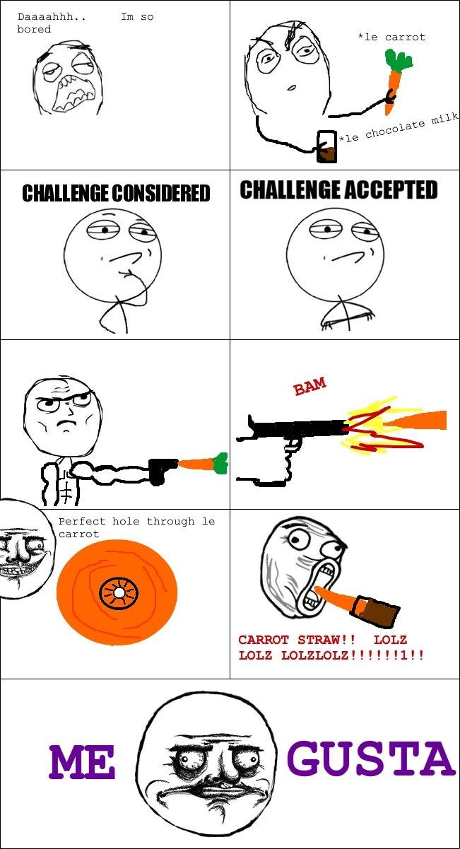 Carrot in anus