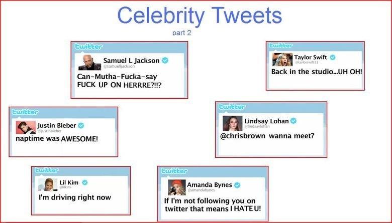 Funny celebrity tweets 2019