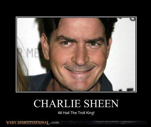Charlie sheen blasts village idiot rihanna