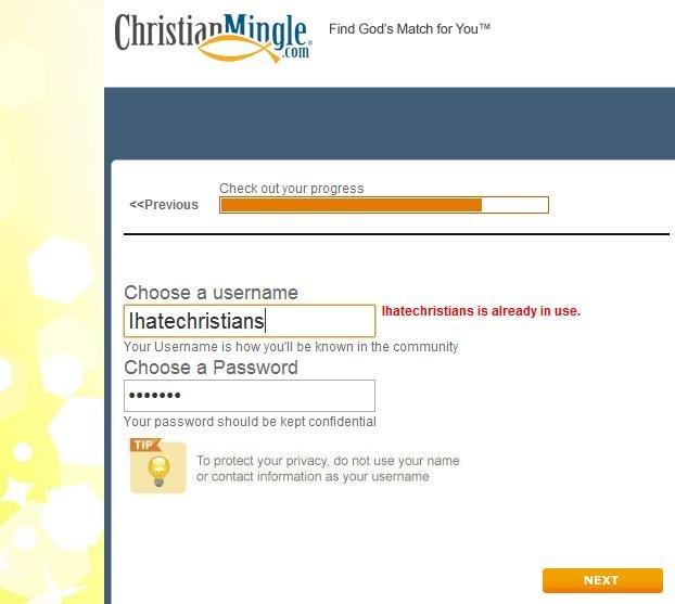 Christian mingle com login