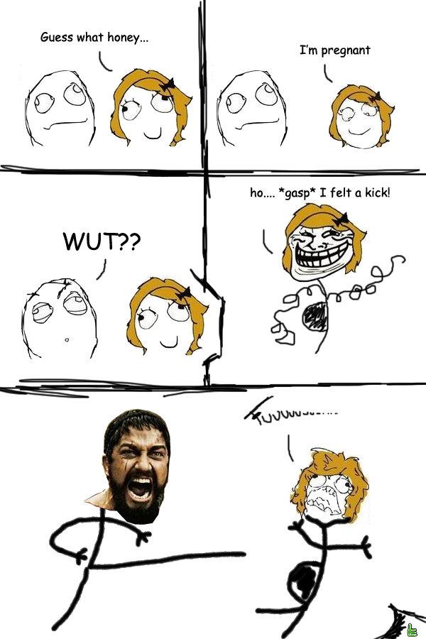 Funny Anime Meme Comics : Comic gf is pregnant meme