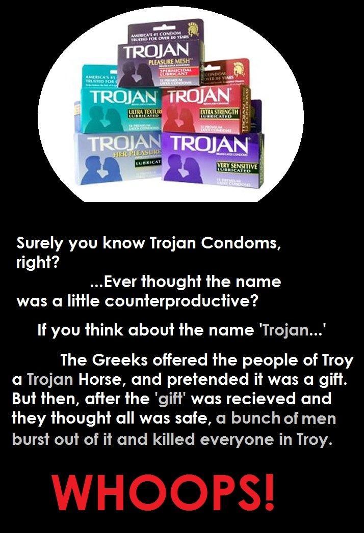Where Did Trojan Condoms Get Their Name