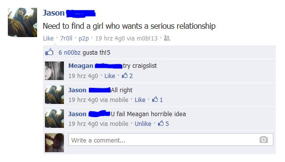 Dating craigslist