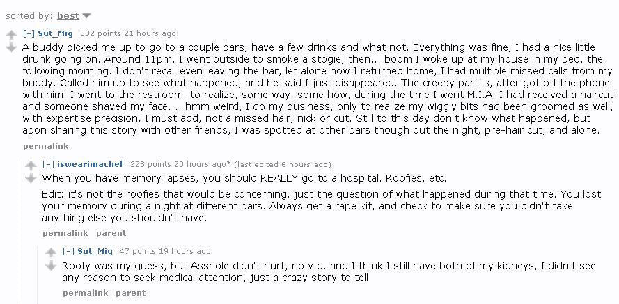 creepy stories from reddit