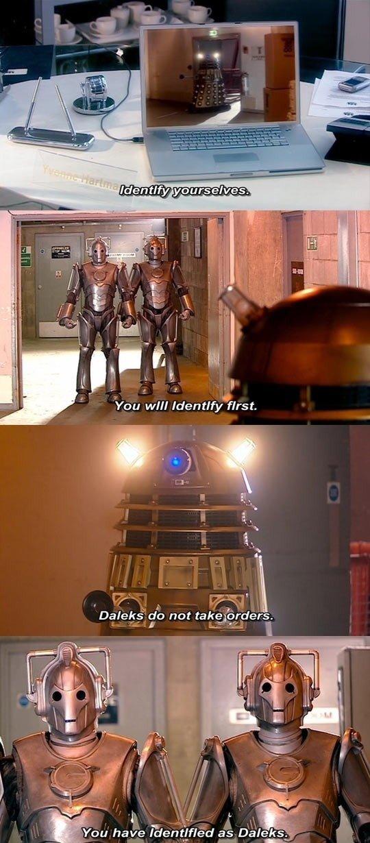 Daleks Vs. Cybermen