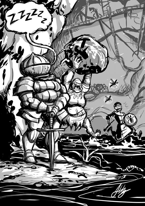 Dark Souls lore comp, Siegmeyer