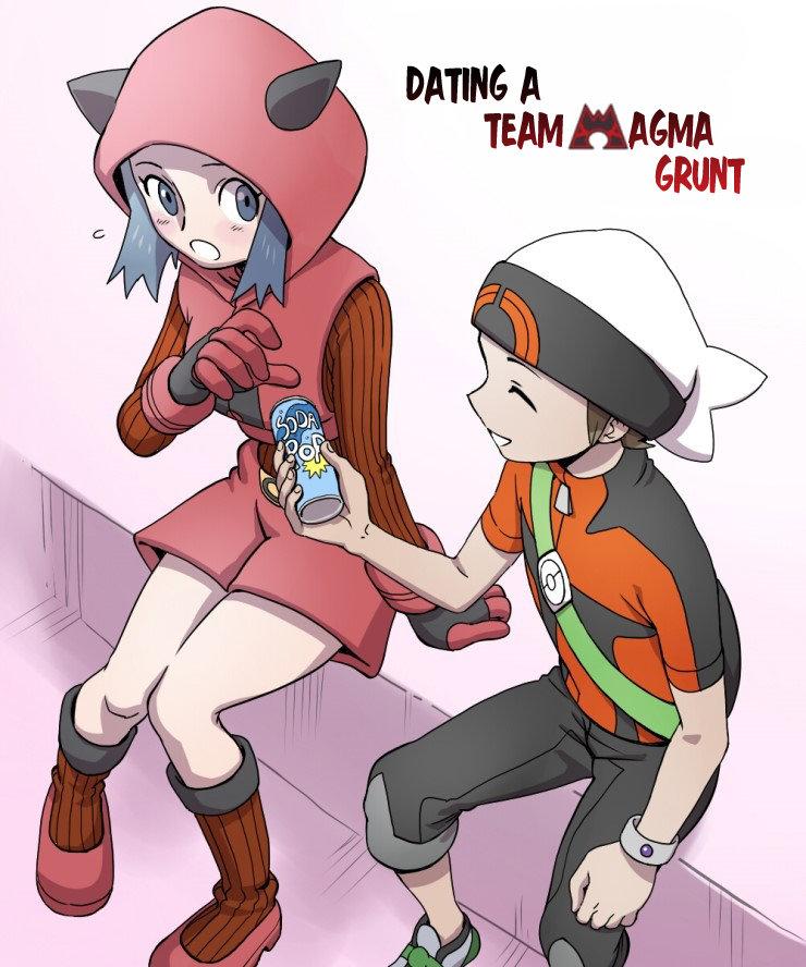 Dating a Team Magma Grunt  KissManga