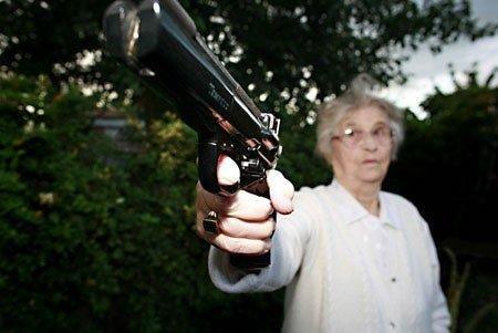 Dont piss off granny