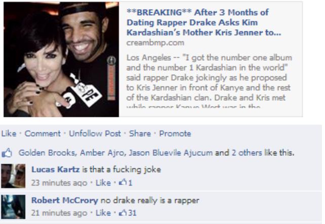 Rapper drake dating kris jenner