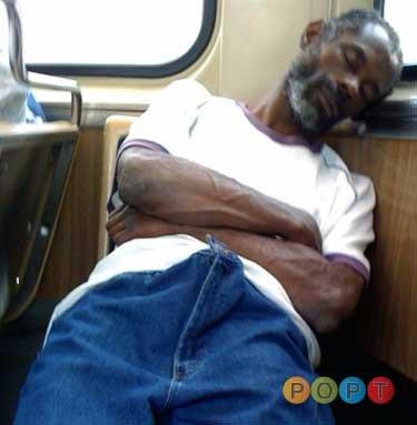 Boner on bus