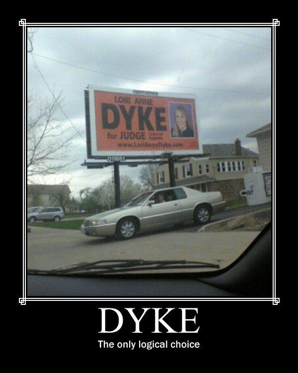 Funny dyke