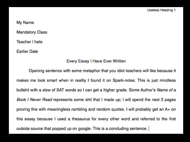 best online dating essays