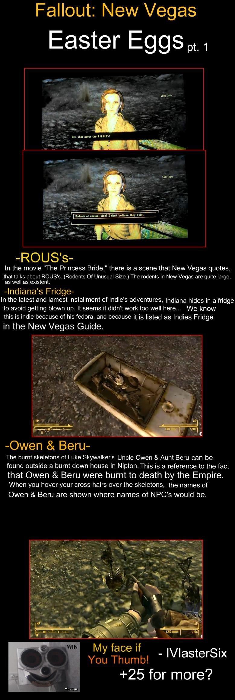Fallout: New Vegas Easter Eggs Pt  1