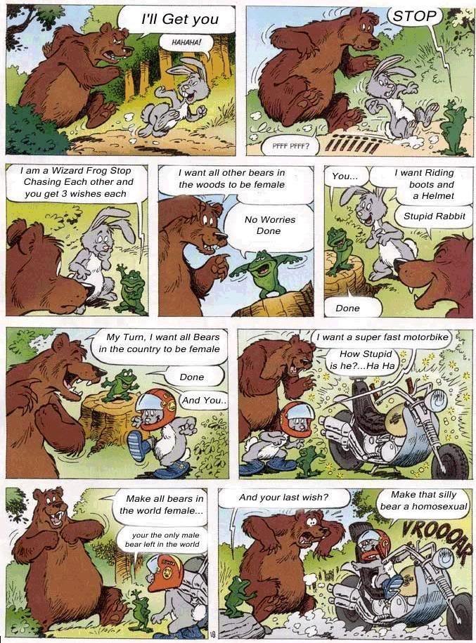 Gay Bear Comics