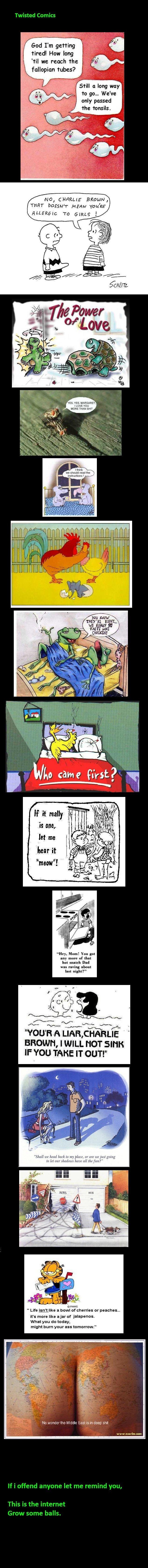 Funny cartoons seks opa Gay blowjob