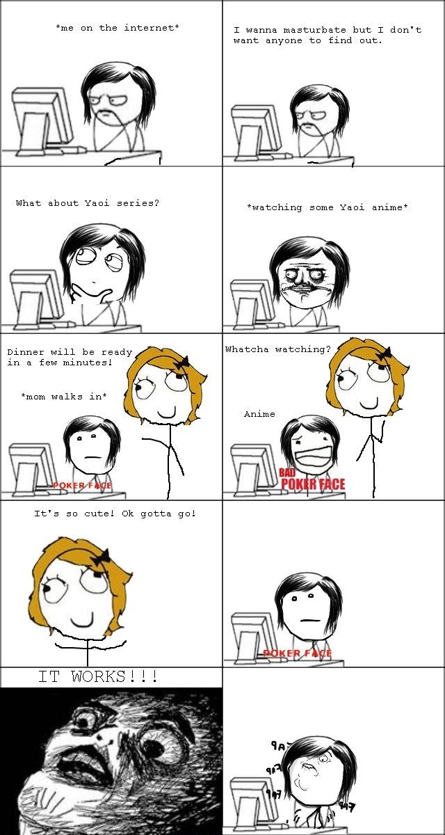 Cartoon girl masturbate