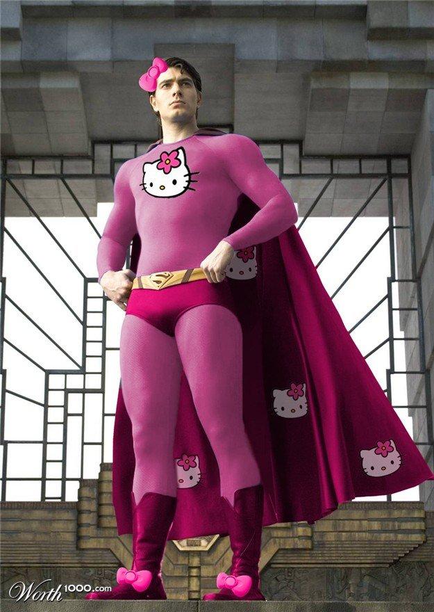girly superman - photo#11