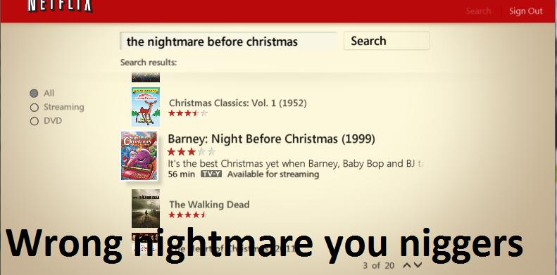 goddammit netflix - Is Nightmare Before Christmas On Netflix